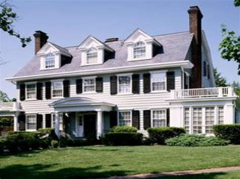 modern colonial homes exterior modern colonial home