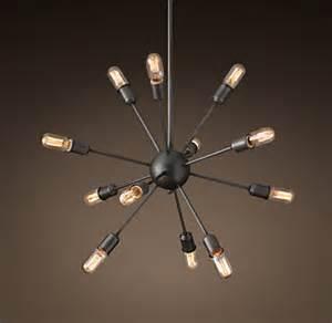 sputnik chandelier restoration hardware sputnik filament chandelier 30 quot