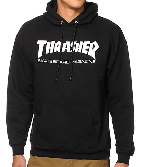 Hoodie Jaket Sweater One Of A Keren thrasher skate mag hoodie zumiez