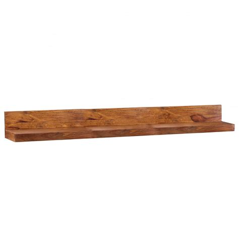 regal wand wohnling massivholz wandregal 160 cm sheesham wandboard