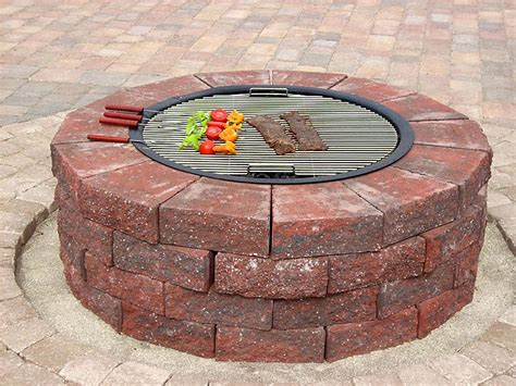how to make a brick fire pit in your backyard how to build a round brick fire pit fire pit design ideas