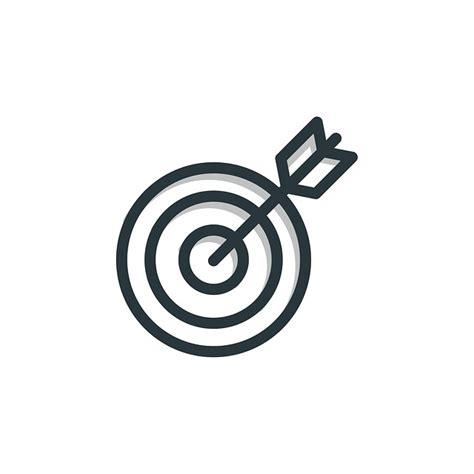 ziel icon gratis illustration m 229 l ikon forretning symbol