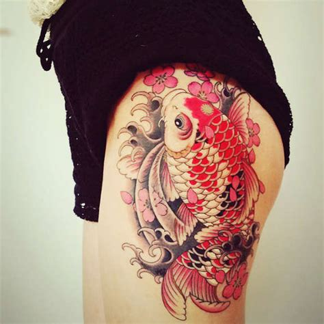 dragon s gate tattoo a tale of strength and perseverance koi rejects