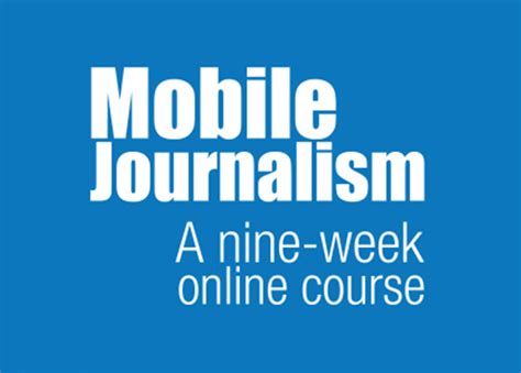 Journalism Courses by Mobile Journalism Course Opens Asian Center For Journalism