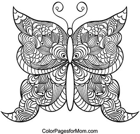 butterflies coloring book for adults books butterfly coloring page 21