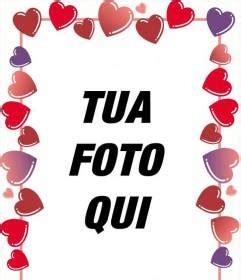 cornici con cuori per foto cornici per foto di cuori e rosse per san valentino