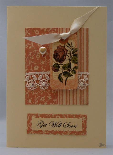 Handmade Get Well Cards - handmade card get well soon