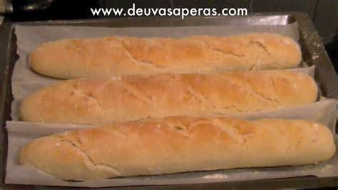 libro pan casero recetas como hacer pan baguette casero f 225 cil recetas de masas youtube