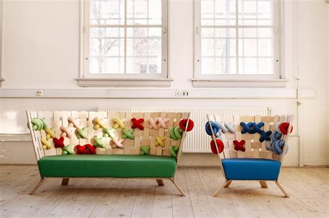 fun armchairs fun armchairs that look like cheerful knitted sweaters