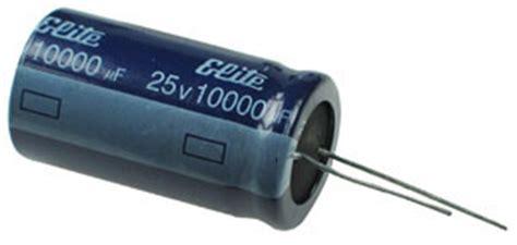 capacitor leakage current rating c10000u25e 10 000uf 25v radial electrolytic capacitor