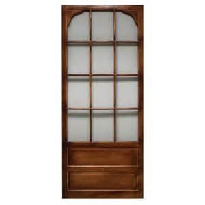 wood screen door hardware superior alhambra 36in reversible wood screen door