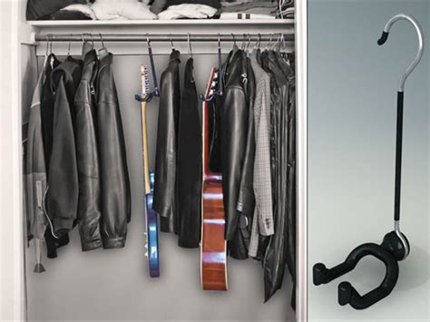 Guitar Closet Hanger by The Guitar Hanger The Band From