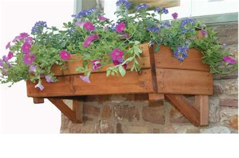 wooden window box planters 25 best ideas about wooden window boxes on