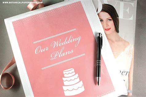 Wedding Notebook Organizer Free Downloads by Free Printables Wedding Planning Binder