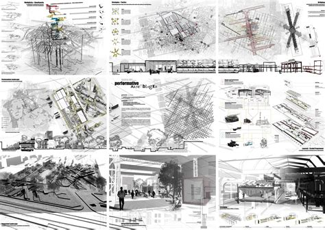 Architecture Sheets Performative Assemblages Thesis Project Suzanne