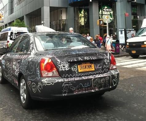 chalkboard paint car chalkboard car invites and graffiti from
