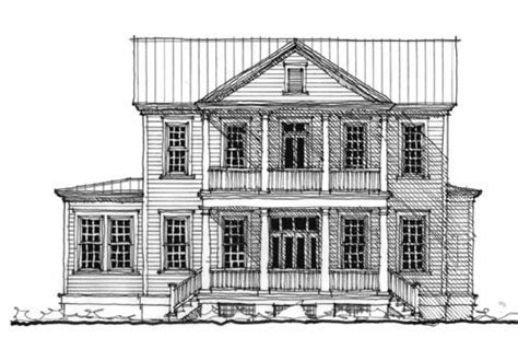 house plans historic historic southern house plan 73712
