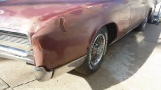 1967 Buick Riviera Parts 1967 Buick Riviera Parts Car Non Running Chrome For Sale