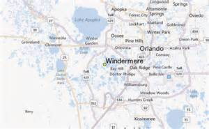 where is windermere florida on a map windermere weather station record historical weather for