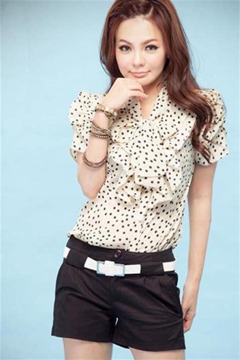imagenes de blusas blancas juveniles moda blusas 187 blusas con manguitas 5