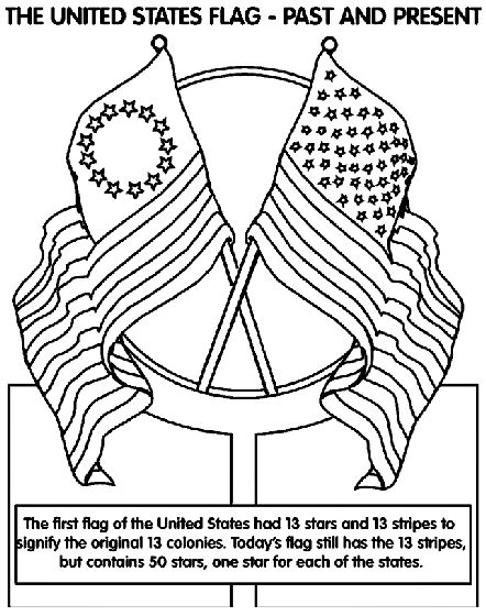 the united states of america flag coloring page crayola com