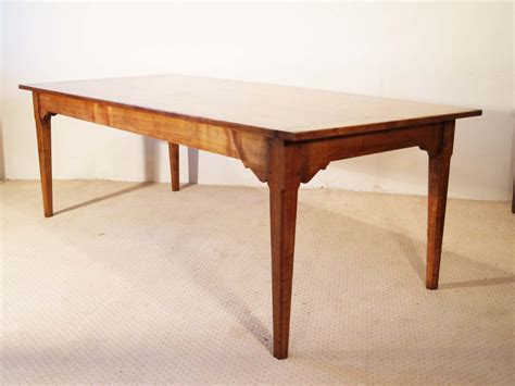 Antique Farmhouse Dining Tables Cherry Wood Antique Vintage Style Farmhouse Dining Table Made To Measure 163 1 680 00