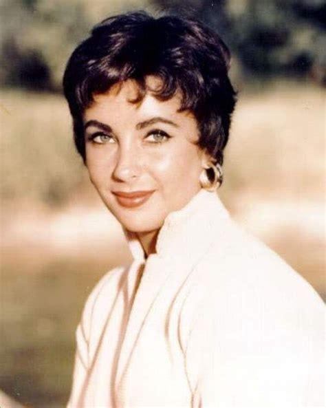 elizabeth taylor short hairstyles women s short hairstyles 1950s my hairstyles site
