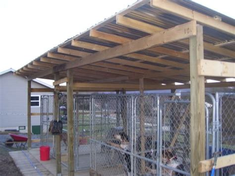 kennel roof ukc forums ideas on kennel setup for our fur babies kennels