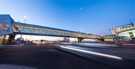 cadillac fairview malls calgary new walking bridge at chinook centre now open photos