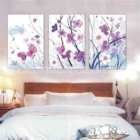 canvas painting for bedroom hand painted decorative flowers oil paintings on canvas 3