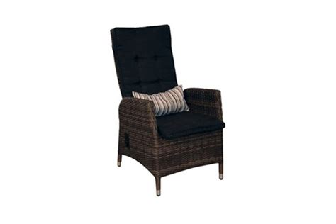 reclining dining chair the royale collection outdoor patio furniture pioneer