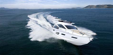 bmw designworksusa launched luxury yacht intermarine 55