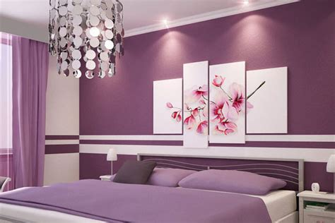 lilac paint for bedroom schlafzimmmer wandstreichideen in lila freshouse