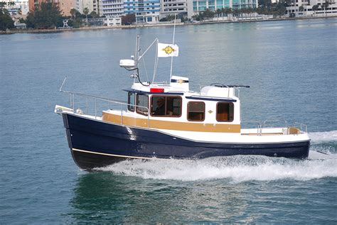 fishing tug boats for sale compact cruisers and tiny trawlers boats and places magazine