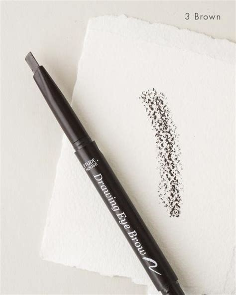 Etude House Drawing Eyebrow 03 Brown drawing eyebrow pencil by etude house soko glam