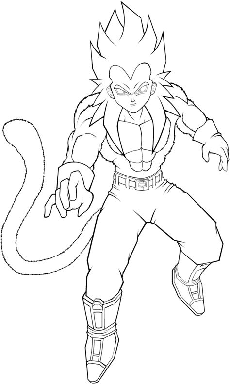 dragon ball z vegeta coloring pages dragon ball z super saiyan 4 coloring pages az coloring