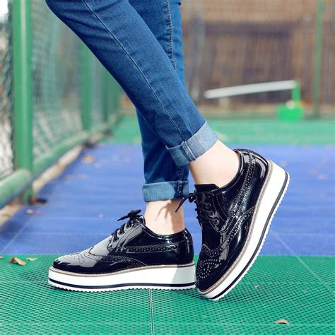 platform oxford shoes womens new 2016 style oxford shoes for chaussures femme