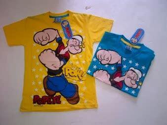Kaos Popeye 9 rafikids grosir baju anak branded kaos anak plane kaos