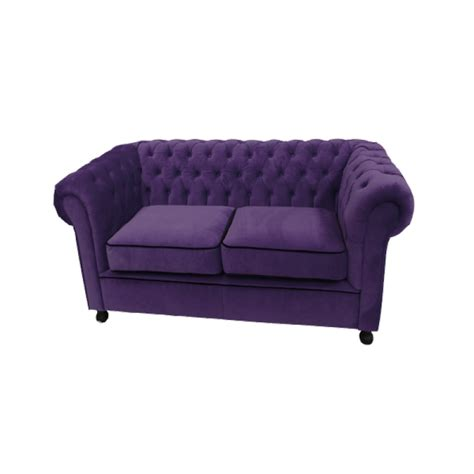 purple velvet chesterfield sofa purple velvet chesterfield style 2 seater sofa sofa hire