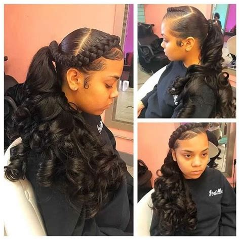 back to school weave hairstyles 350 best images about black hair youth edition on