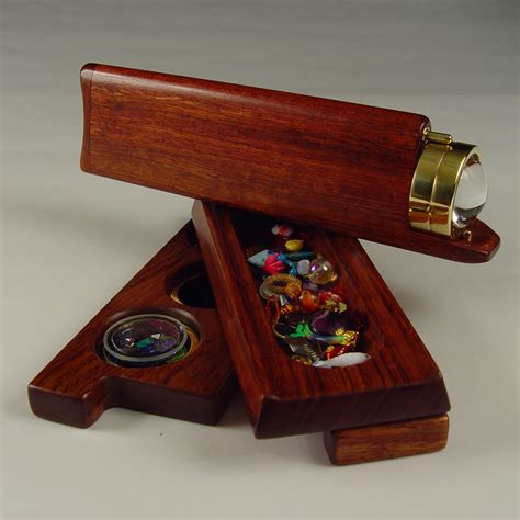 Handmade Kaleidoscope - collectible wooden maple kaleidoscopes henry bergeson
