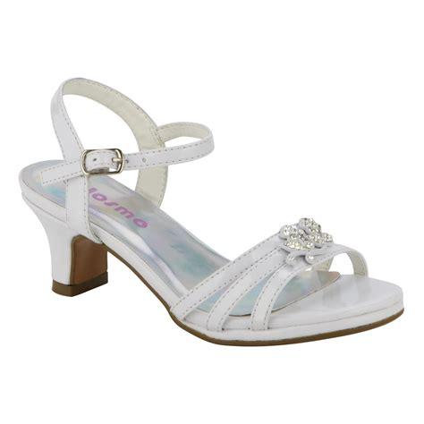 white dress sandals for josmo toddler s dress sandal 30236 white