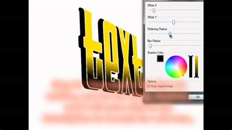 how to make 3d text in quot paint net quot