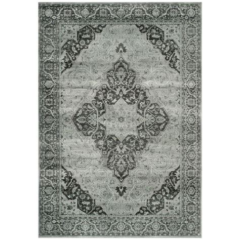 safavieh vintage turquoise multi 8 ft x 11 safavieh vintage mouse 8 ft x 11 ft 2 in area rug vtg127 3110 8 the home depot