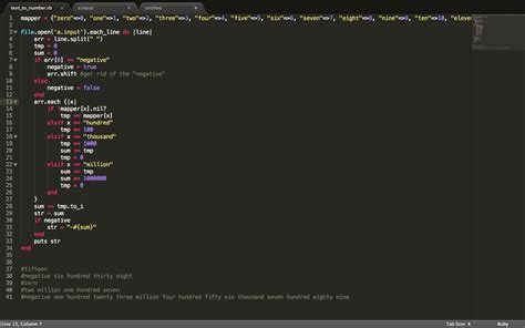 section cod sublimetext2 fold collapse the except code section in