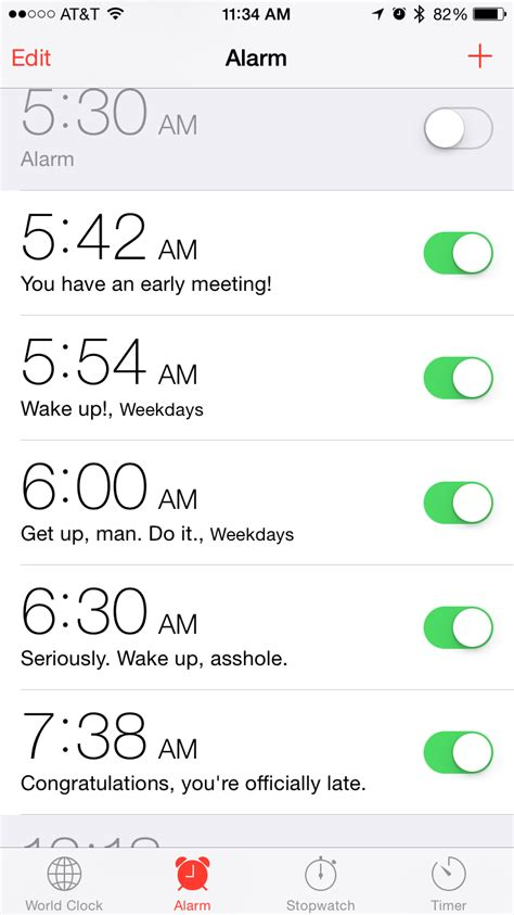 Iphone Alarm Meme - nerdtastic programmable alarm clock free ideas just