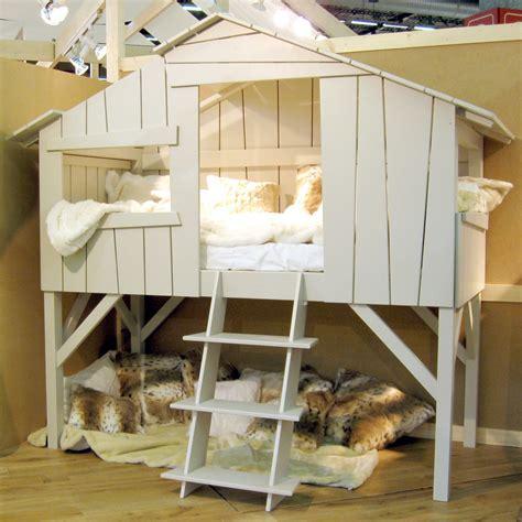 cabane pour chambre garcon cuisine lit cabane superpos 195 169 enfant finition brute x cm