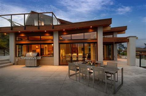 high end home plans contemporary wooden and glass house designs by keith baker
