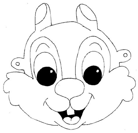 printable squirrel mask 64 free kids face masks templates for halloween to print