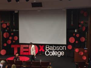 Babson Mba 2017 by A Lesson From Babson S Tedx Event